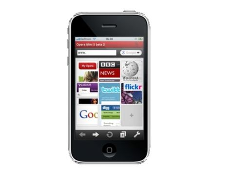 Opera Mini and Apple
